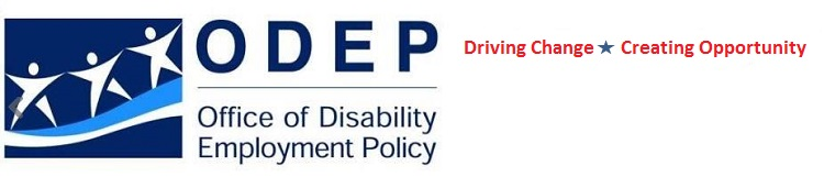 ODEP Office of Disability Employment Policy